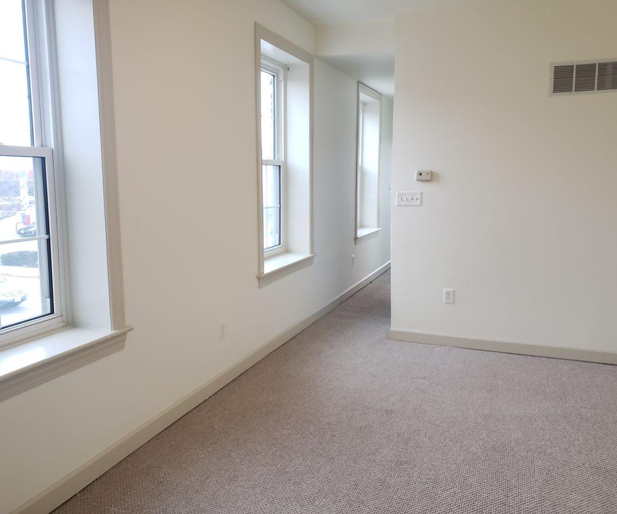 Apt. D - Living Room - view 1